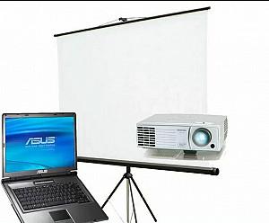 Прокат экрана, проектора с доставкой Нур-Султан (Астана)