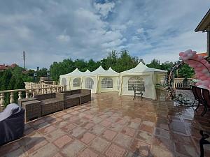 Прокат тентов и шатров разных размеров в Алматы в аренду Алматы