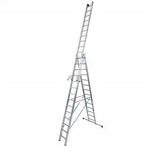 Аренда трехсекционной универсальной лестницы Алматы