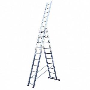 Прокат универсальной 6 метровой лестницы из трех секций Алматы