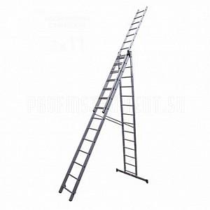 Аренда раздвижной лестницы из 3 секций на 11 метров Алматы