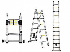 Прокат телескопической лестницы SHTOK 20004. Аренда лестница телескопическая Алматы