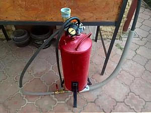 Прокат струйного аппарата для абразивной очистки/обработки песком Алматы