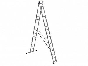 Аренда прокат двухсекционных лестниц на 11 метров Алматы