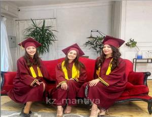Мантия на выпускной прокат аренда Алматы