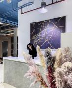 Творческое пространство для дизайнеров интерьера. Коворкинг центр Алматы