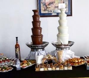 Аренда шоколадного фонтана 85 см Алматы