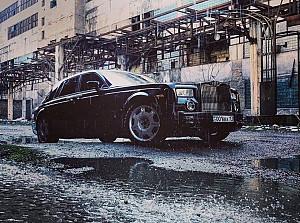Аренда люксового авто. Rolls Royce Phantom в аренду. Шымкент