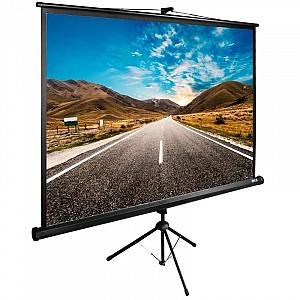 Просмотр фильмов на экране проектора. Экраны для проекторов в аренду Алматы