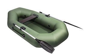 Лодка резиновая надувная с веслами в аренду прокат Алматы
