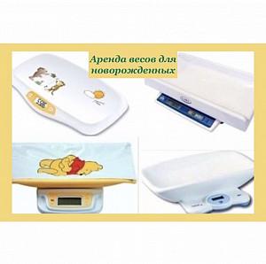 Весы для новорождённых Саша в аренду Алматы
